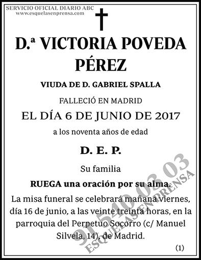 Victoria Poveda Pérez